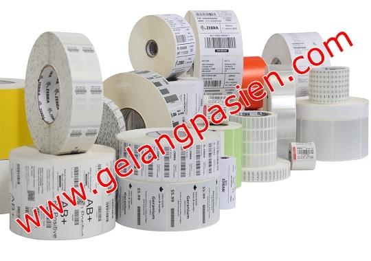 keunggulan label barcode semicoated